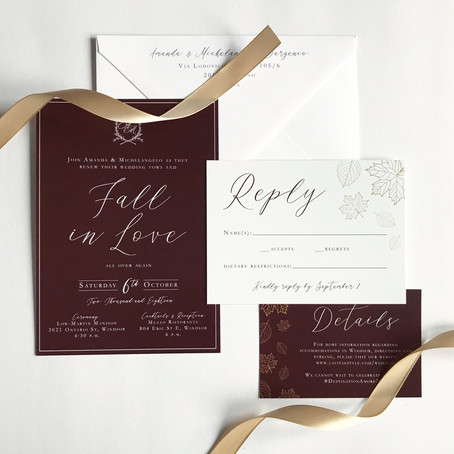 Fall in Love (with wedding planning)