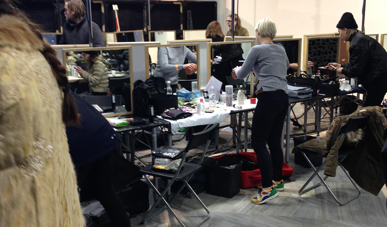 Backstage madness