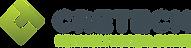 CREtech Logo Horizontal Blue Green with