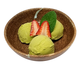 ramen isshin green ice cream.png