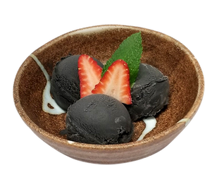 ramen isshin black sesame ice cream.png