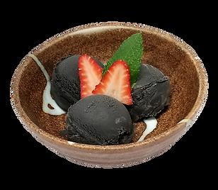ramen isshin black sesame ice cream.png