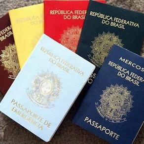 Pasaporte brasileño para Extranjeros