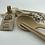 Thumbnail: 100% Natural Fiber made Chopsticks & Spoon