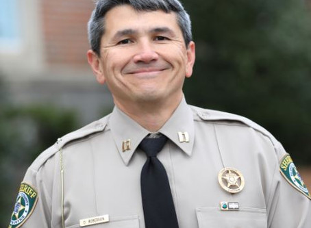 Roberson announces intent to run for sheriff in 2020
