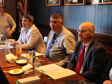 Sheriff candidates speak at Floyd County Republican Women's Luncheon