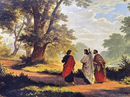 El encuentro de los discípulos camino a Emaús con Jesús