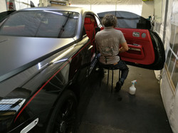ROLLS ROYCE BLACK WRAITH CAR WINDOW TINTING