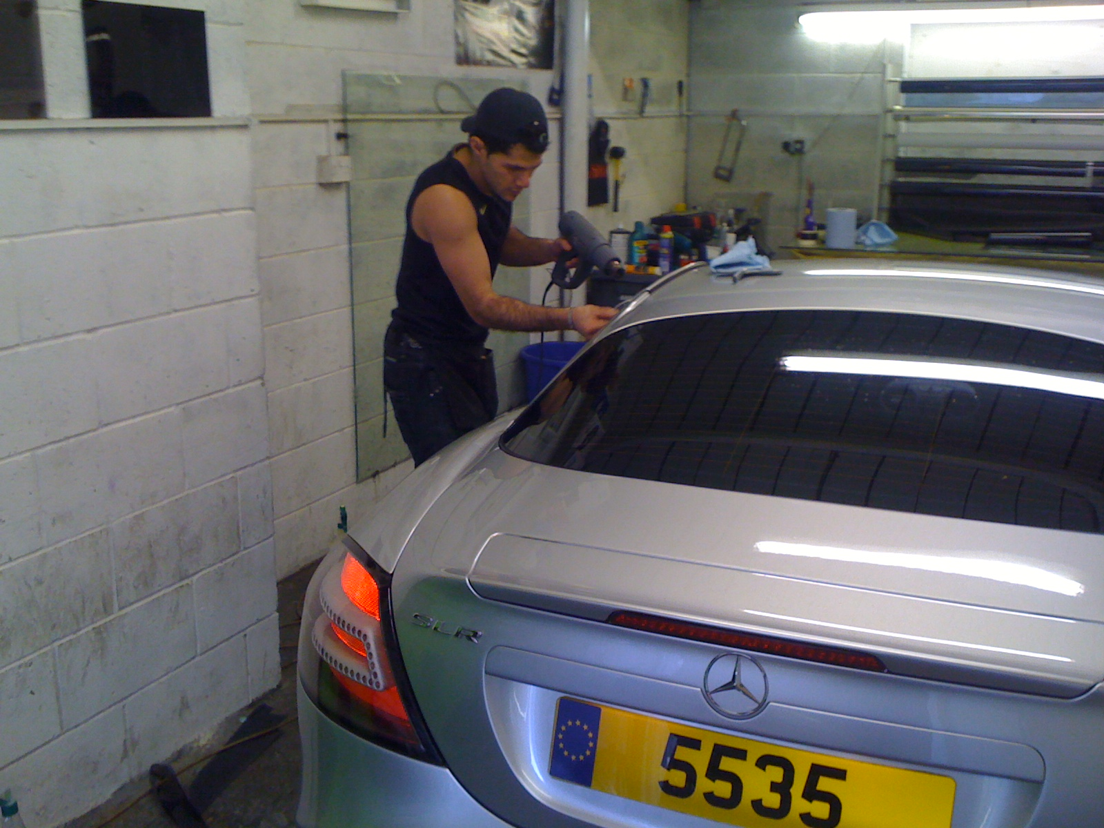 #mclaren #sls #mercedes #amg #windowtinting #love #tintings #tinter #chelsea