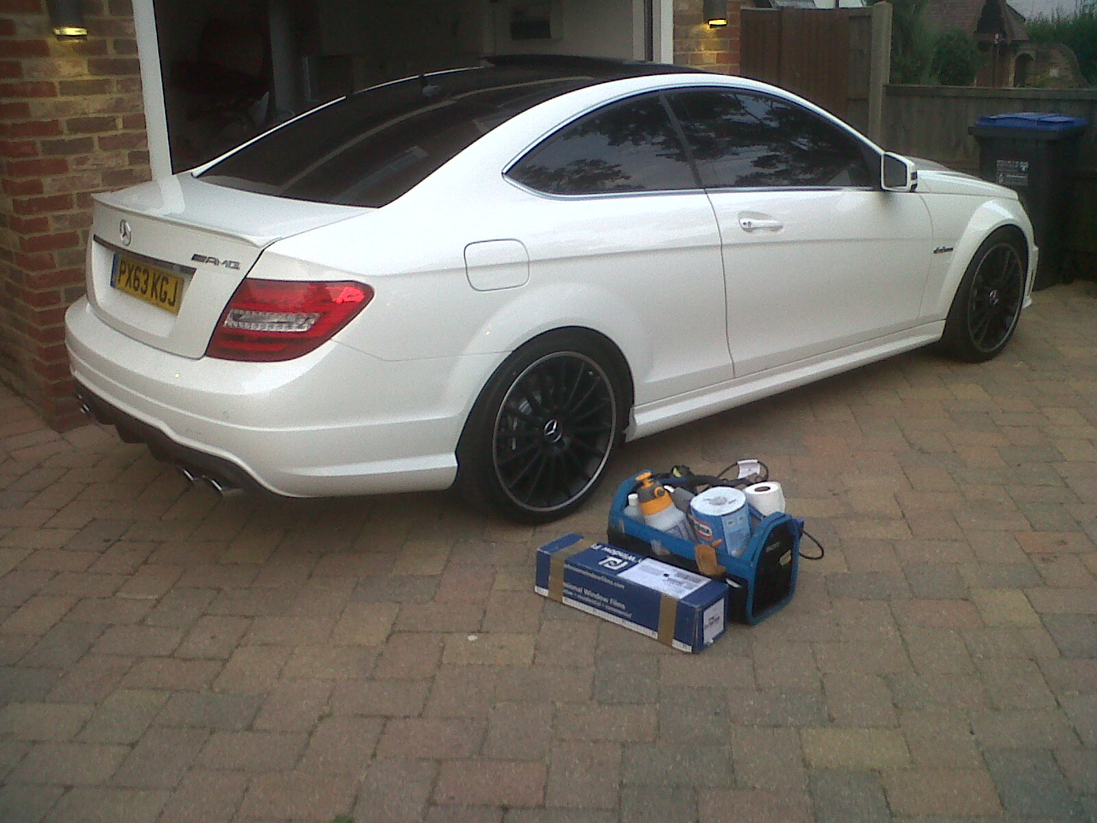 #mercedes #c63 #amg #brabus #carwindowtinting #cartints