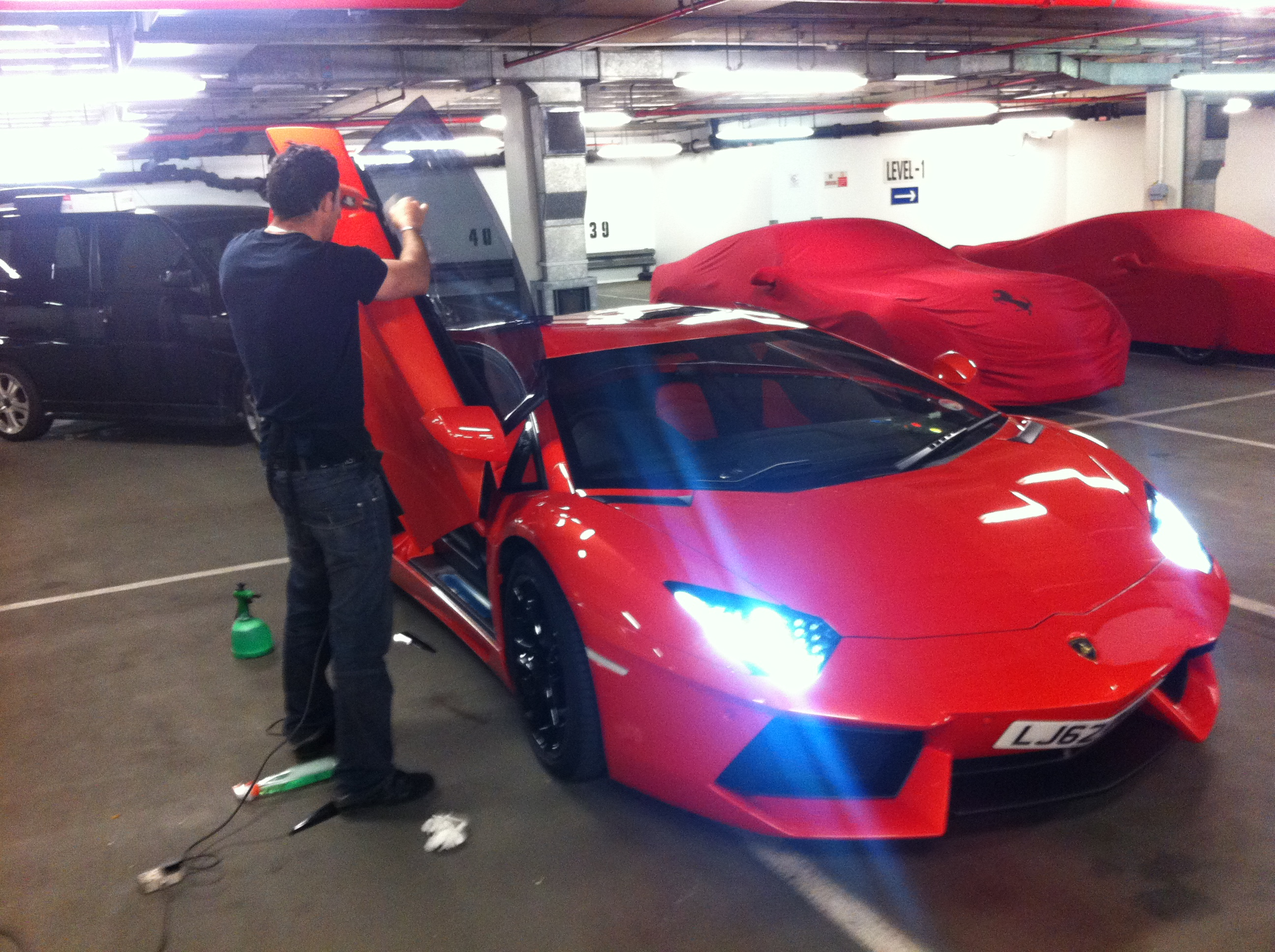#1 #lamborghini #aventador #carwindowtinting #cartints