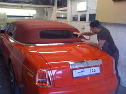 #convertible #drophead #rollsroyce #arabic #tintingit #carwindowtinting #ladbrokegrove