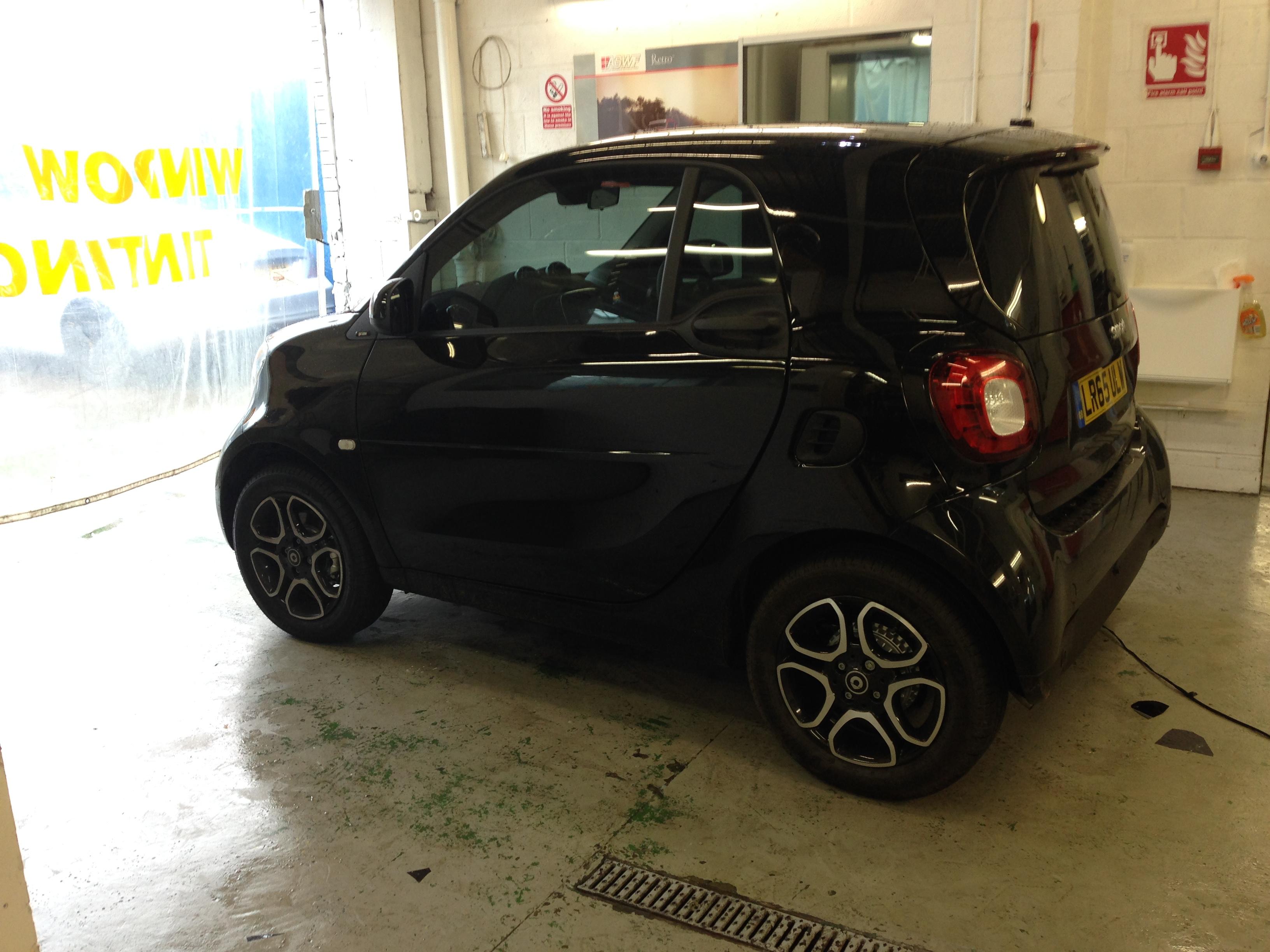 #smartcar #brabus #smallcar #windowtinting #chiswick #carwindowtinting