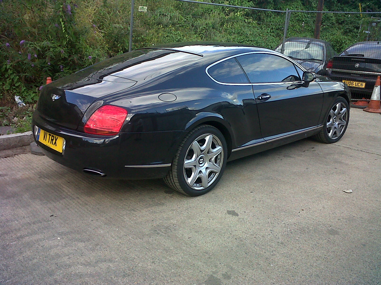 #v1#black #car #bentley #sportscar #windowtintinguk