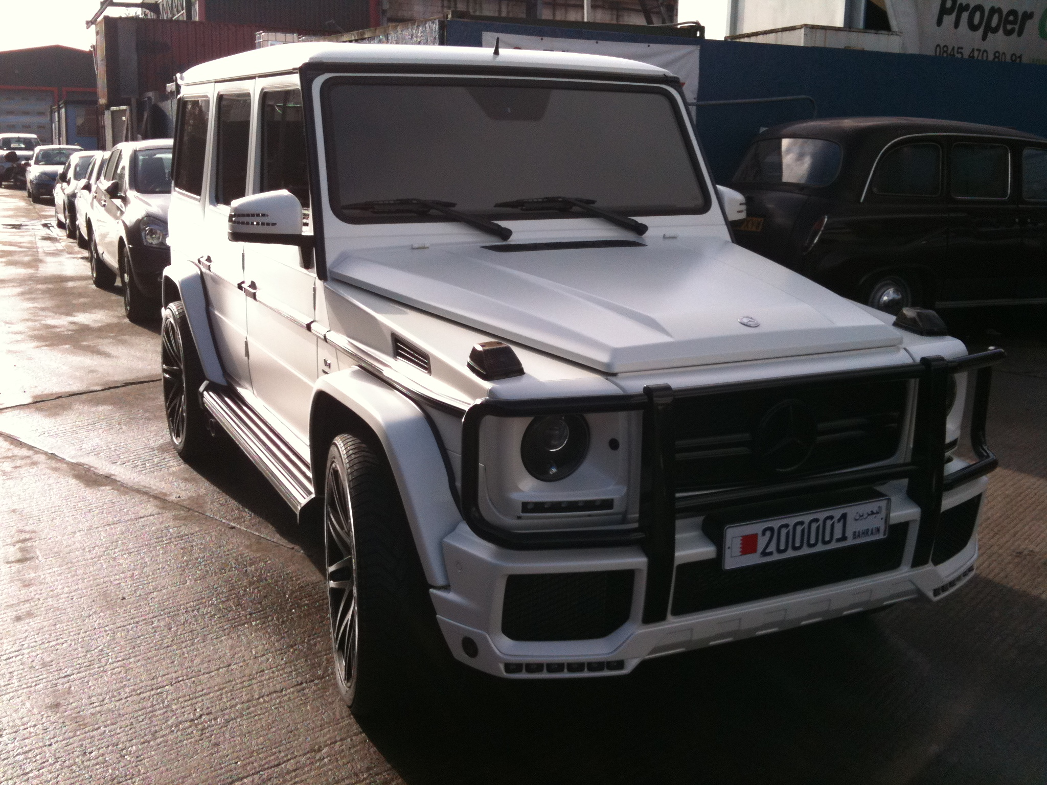 #gwagon #satinwhite #tinting #cartints