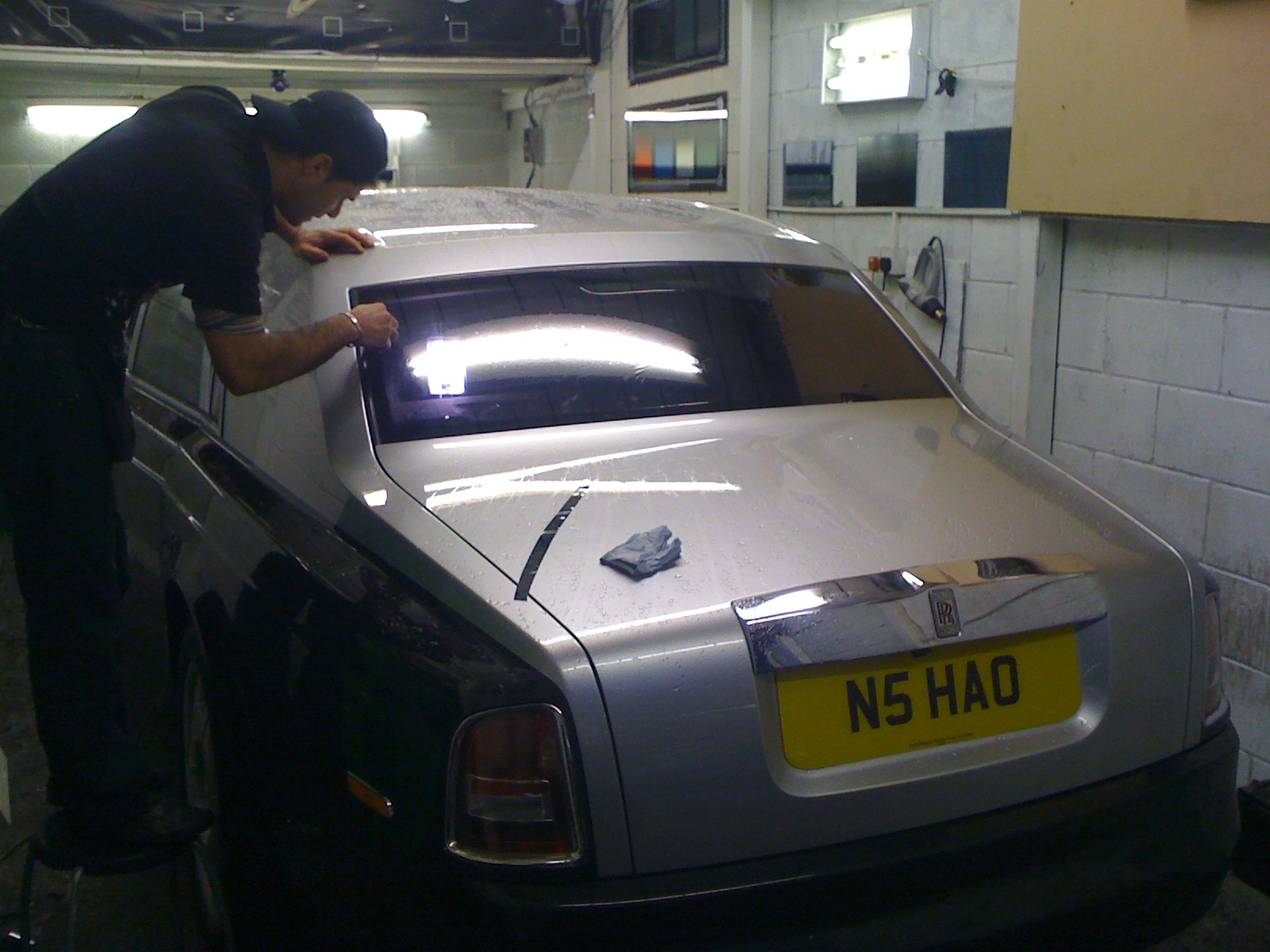 #chinese #rollsroyce #windowtinting #soho #cartints