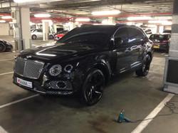 #bentayga #bentley #luxrycar #tints #blacked