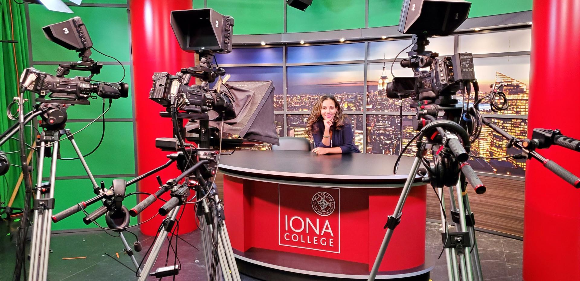 Iona College Television Studio