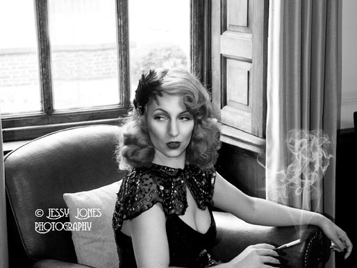 Ava Aviaction 1940's inspired photoshoot