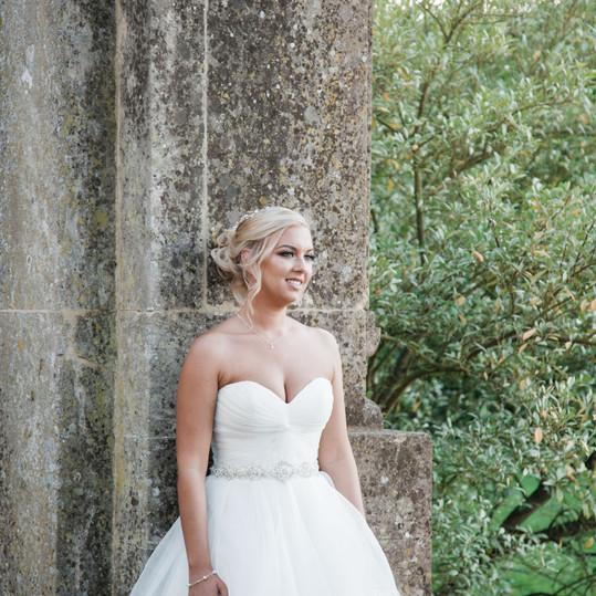 bride-harlaxton-manor-wedding
