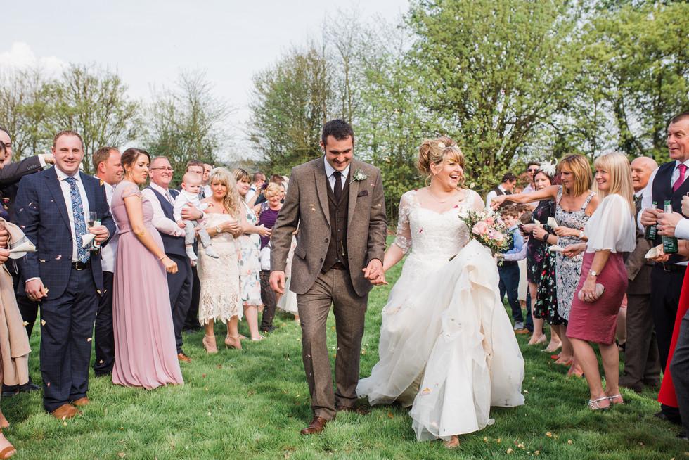 Confetti-wedding-lincolnshire