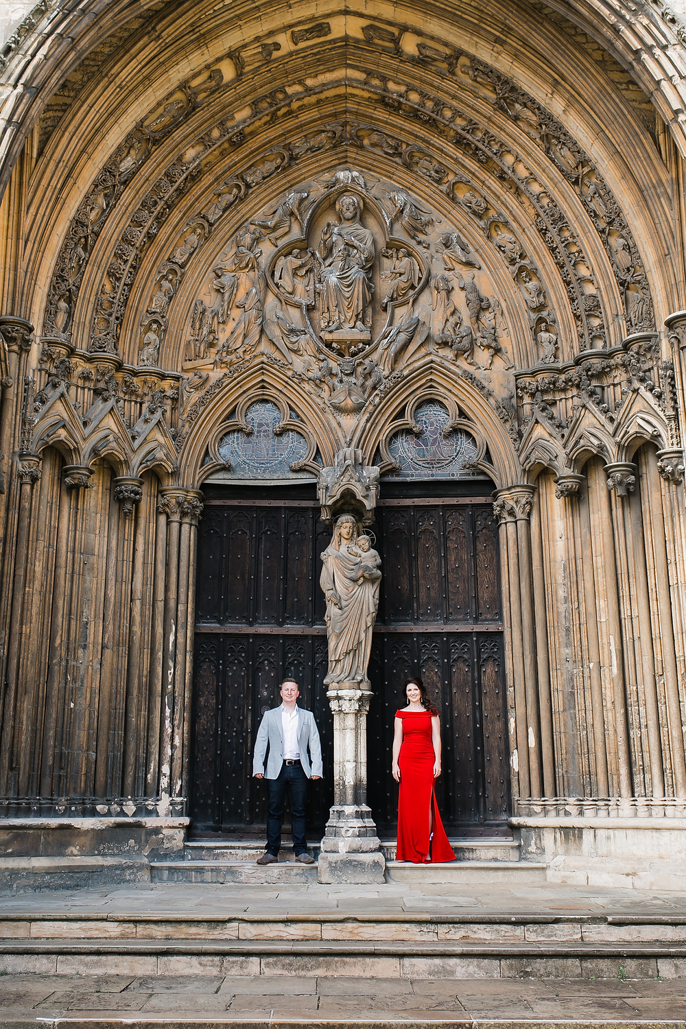 Lincoln Cathedral Engagement Photoshoot with Jessy Jones Photography