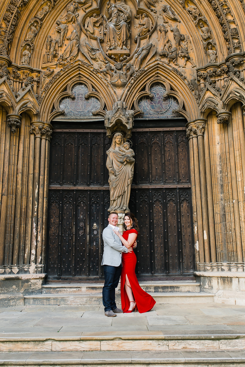 Lincoln Cathedral Engagement