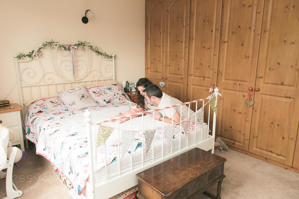 Lifestyle Newborn Photographer Lincoln