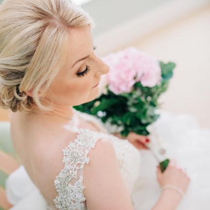 Dower-House-Woodhall-Wedding- bridal-Preperations