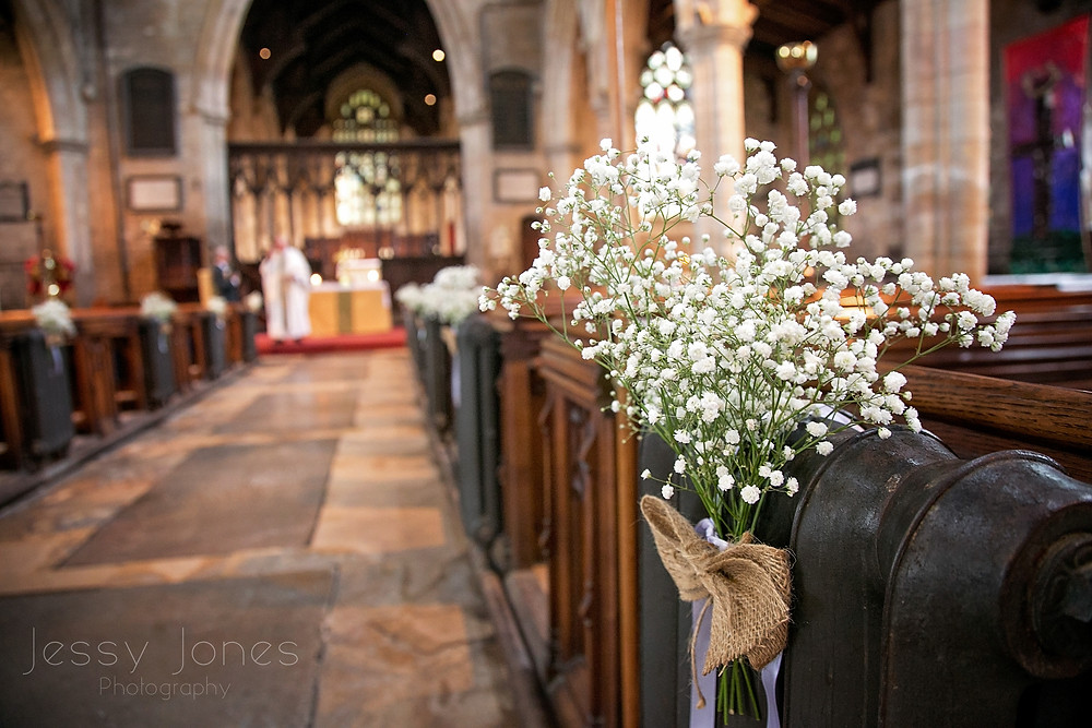 Swineshead Church wedding