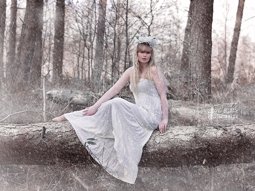 Whimsical Winter Wonderland Photoshoot
