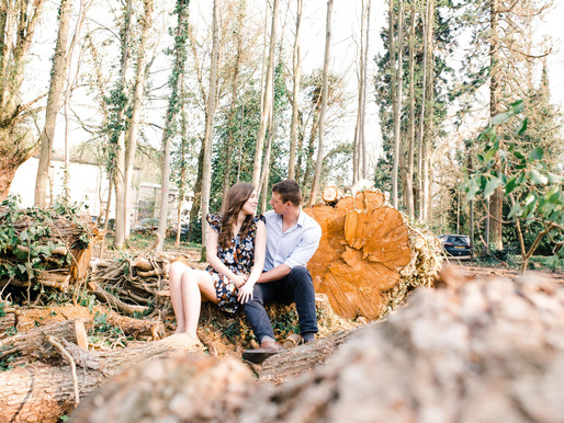 Hannah & Jared - Woodhall Spa Engagement Shoot
