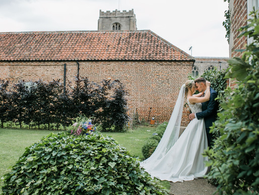 Charlotte & Jack - Whimsical Chic Freiston Priory Wedding Day
