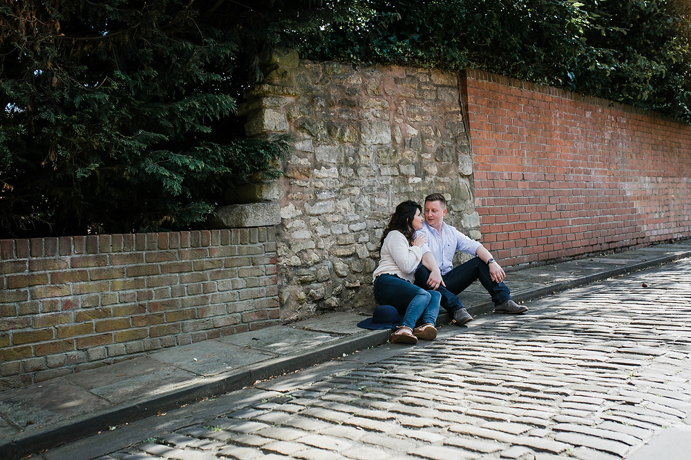 Lincoln City Engagement Photoshoot