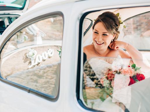 Amy & Mark - Market Rasen Farm Wedding
