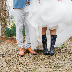 bride-and-groom-wellies