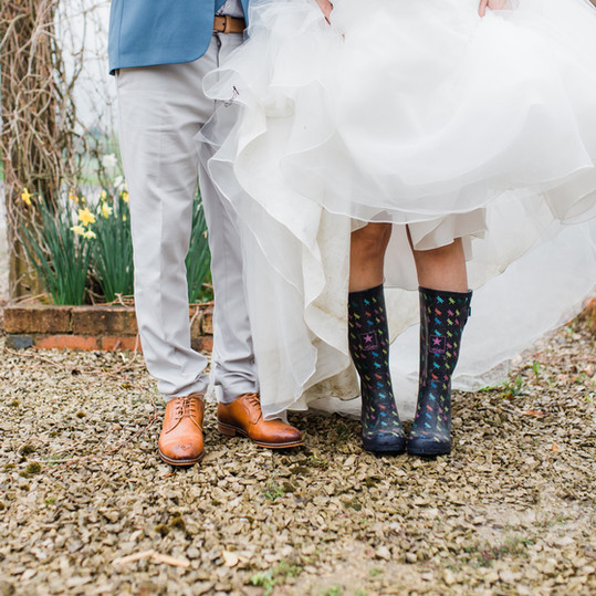 bride-and-groom-wellies