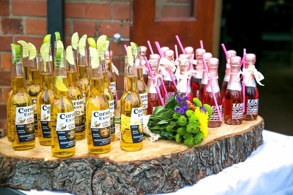 Wedding Arrival Drinks