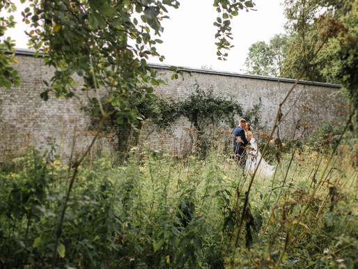Sadie & Nick - Whimsical Scrivelsby Walled Garden Wedding