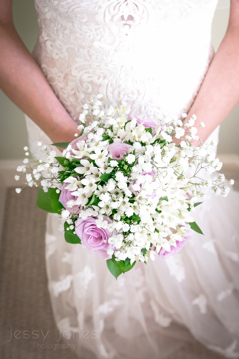 Lilac Bride bouquet