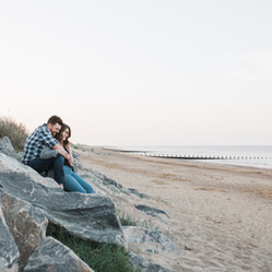 skegness-beach-engagement-photoshoot