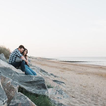 skegness-beach-engagement-photoshoot
