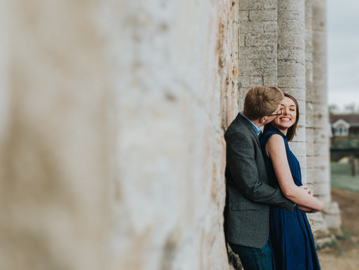 An Abbey Engagement Photoshoot