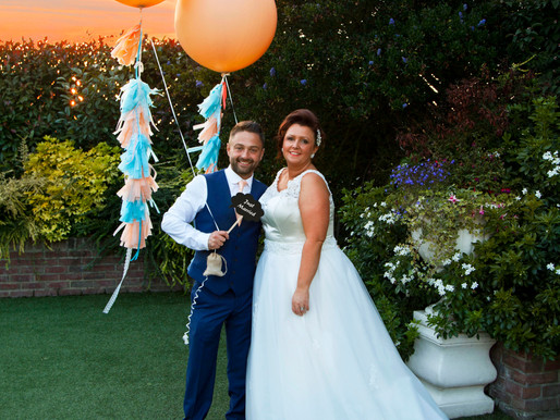 Leroy & Becks beautiful pastel wedding at the Poachers Country Hotel, Boston Lincolnshire