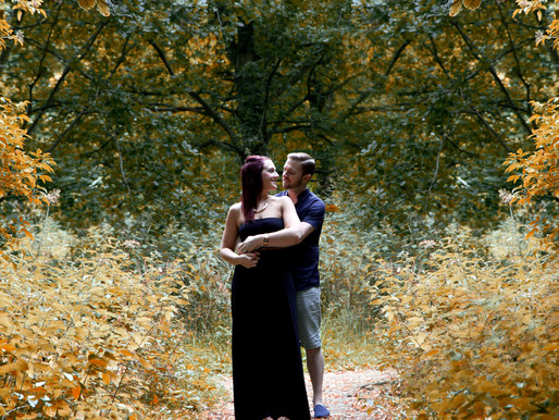 Lewis & Holly' pre-wedding photoshoot
