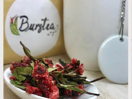 Une première dégustation: La marque de thé Burstea