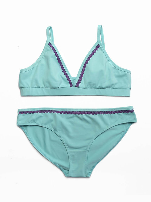 Turquoise Iris Set
