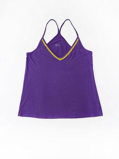 Purple Dream Daffodil Pyjama Set