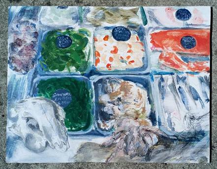 Fishmongers Window (samphire)
