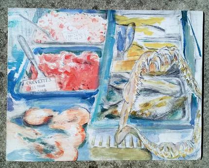 Fishmongers Window (prawns)